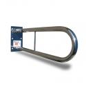Hinged folding grab rail