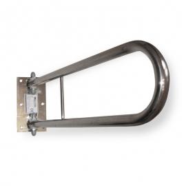 Swivel bathroom grab rail