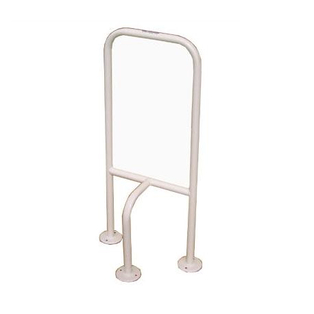 Floor mounted grab rail