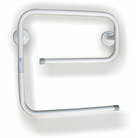 Towel hanger steel white