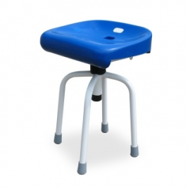 Height adjusted stool