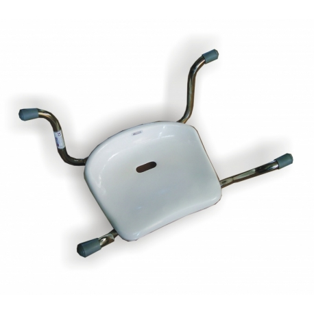 Stainless steel bath seat