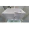 Shower/Bath angled rail
