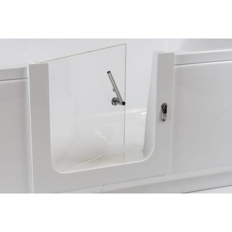 Orthopaedic bathtub door