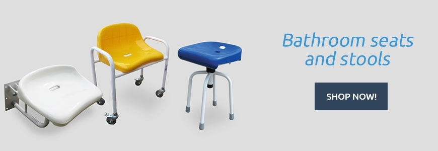 Bathroom seats and stools